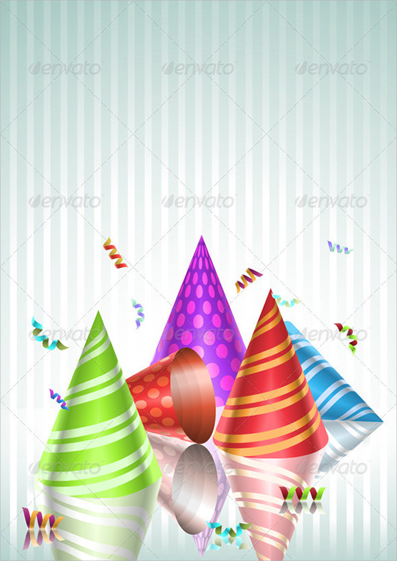party hat template for adults
