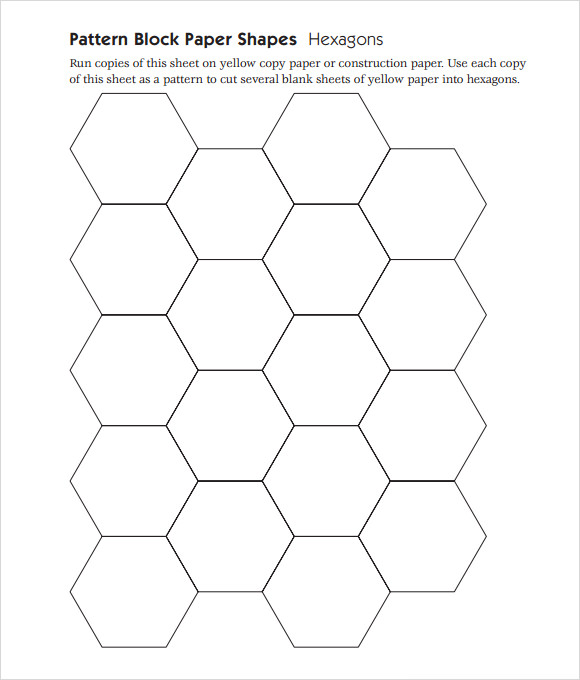Pattern Block Templates   Download Free Documents in PDF PSD 3Si3TGBz