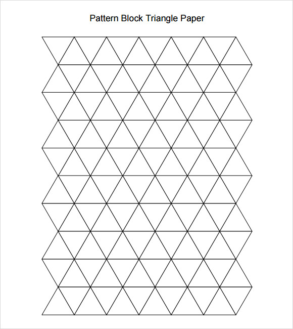 10 useful sample pattern block templates to download for Block graph template