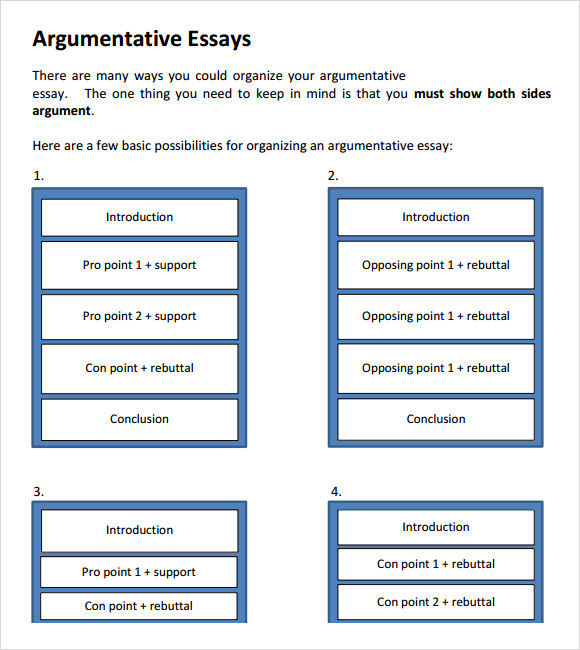 Persuasive essays with counter-arguments