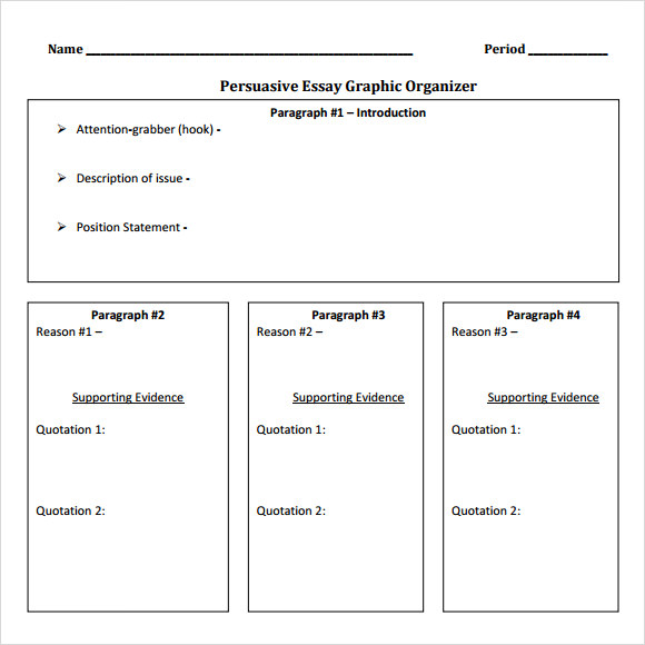 Persuasive Essay Outline - LessonPaths