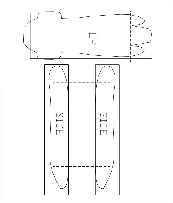Pinewood derby templates download documents in pdf