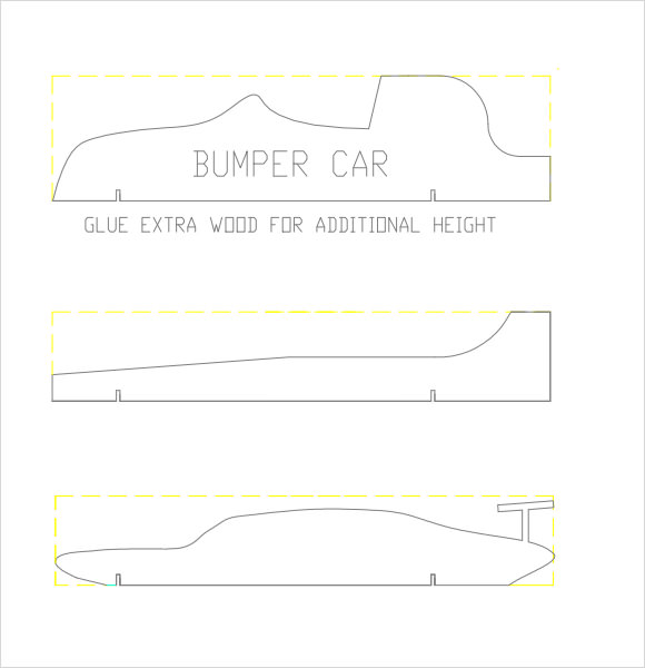 pine wood derby template - 12 sample pinewood derby templates to download sample