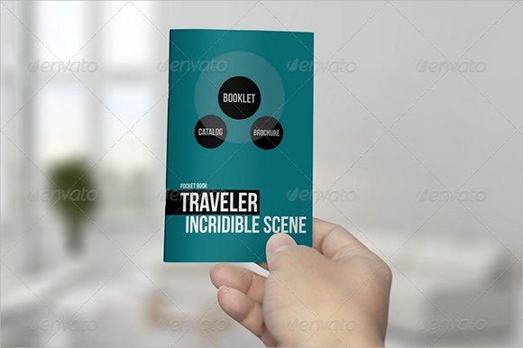 pocket booklet template