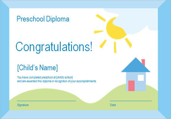 graduation diploma template microsoft word .