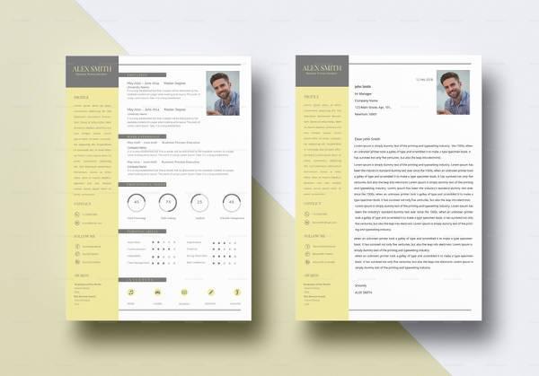 printable designer bpo resume template