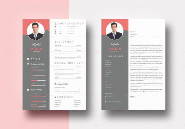 Professional BPO Resume Template In Word Format