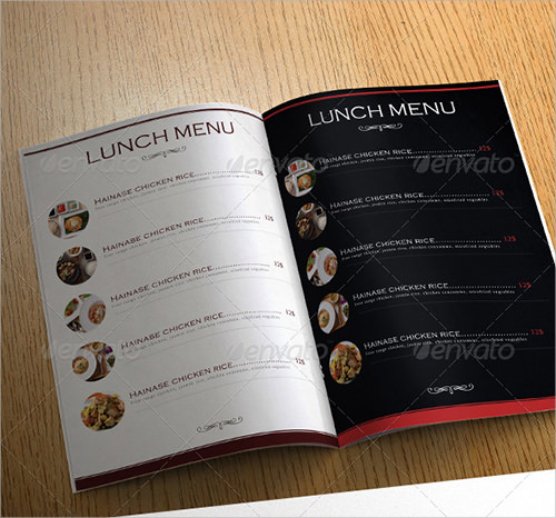 FREE 34+ Menu Templates In AI
