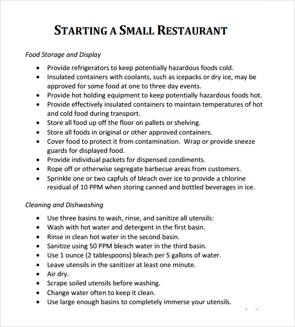 Download free business plan template restaurant business plan template 7 download free documents in pdf cheaphphosting Image collections
