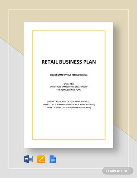 retail plan