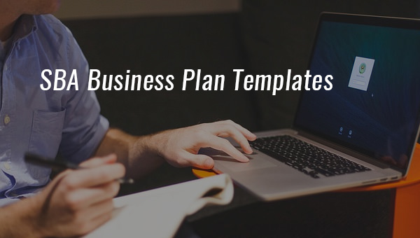 9 sample sba business plan templates sample templates 9 sample sba business plan templates friedricerecipe
