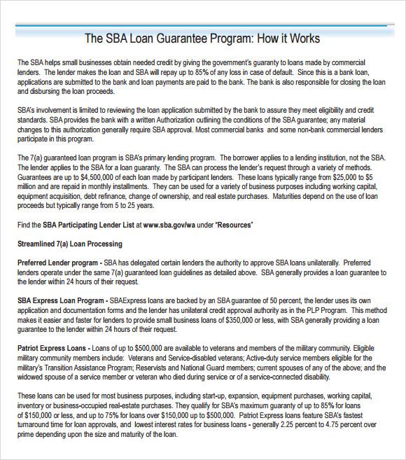 sba business plan template doc