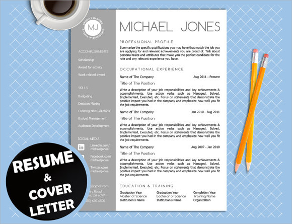 sales resume template download