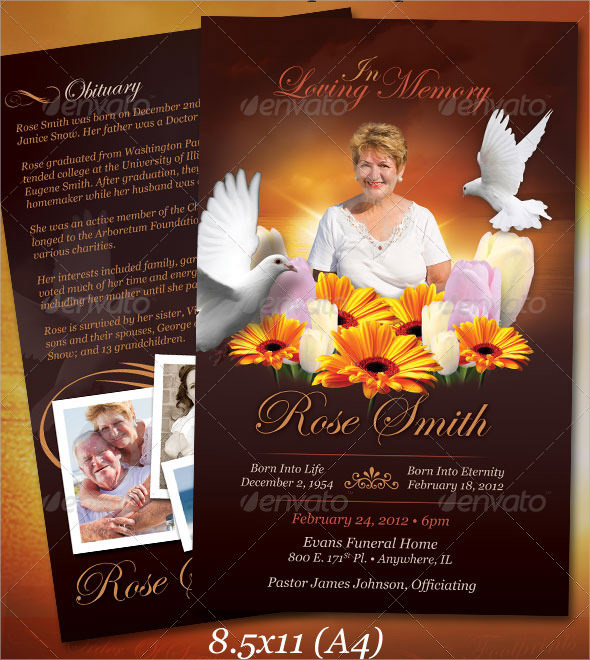 sample funeral notice