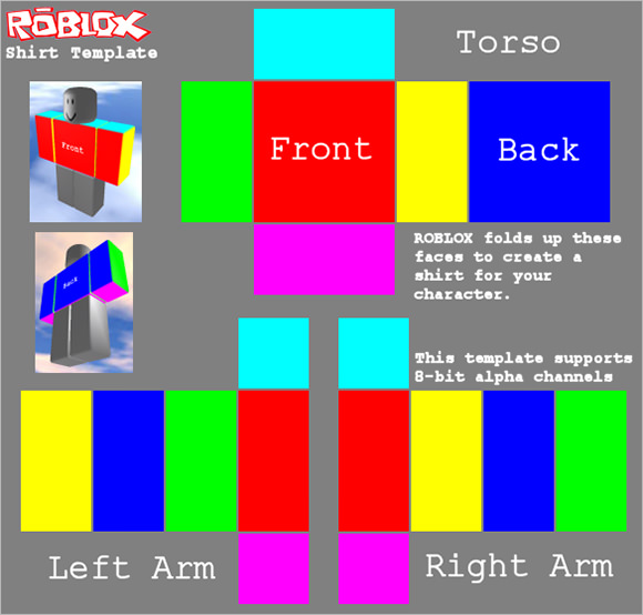 Roblox Shirt Template - 5 Download Documents in PDF | Sample Templates