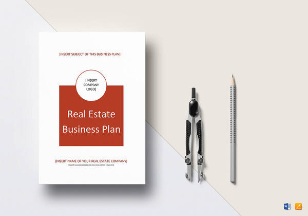 simple real estate business plan