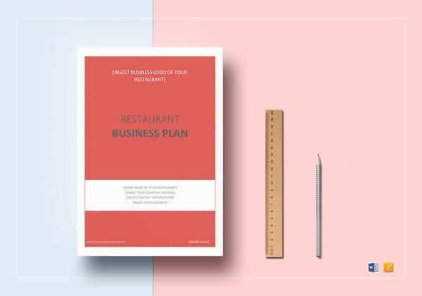 simple restaurant business plan
