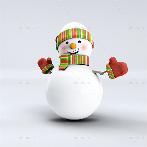 Sample Snowmans  Psd