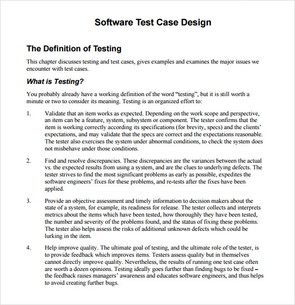 free business case template word .