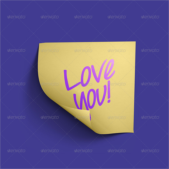 sticky notes photoshop