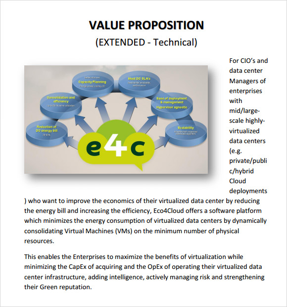 Value Proposition Sample 9 Documents in PDF PPT – Value Proposition Template