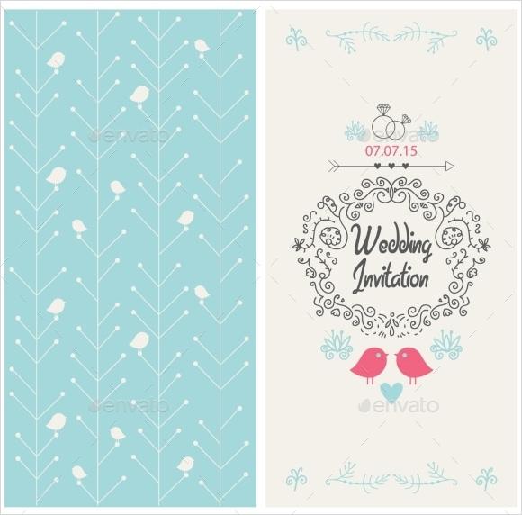 wedding invitation card template1