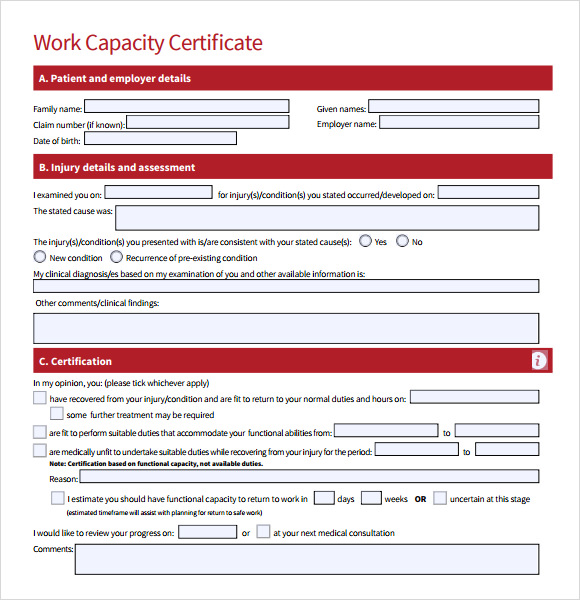 Employment Certificate Template - 9+ Download Free Documents in PDF ...