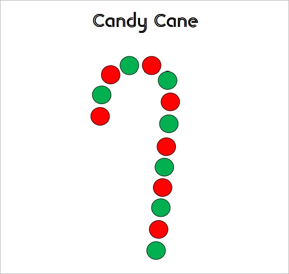 Candy Cane Template - 9+ Download Documents in PDF , Vector , PSD ...