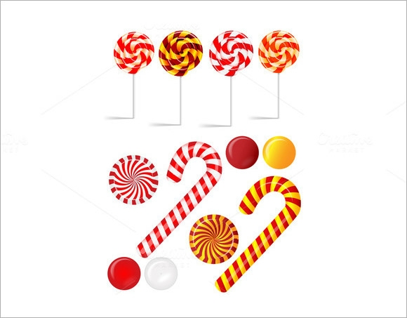 Sample Candy Cane   Documents In Pdf  Vector Psd
