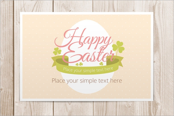 Easter Card Template 20 Download Documents in PSD Vector – Easter Greeting Card Template