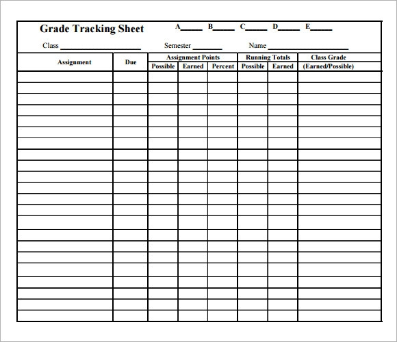 Sample Tracking Spreadsheet   Documents In Pdf Word