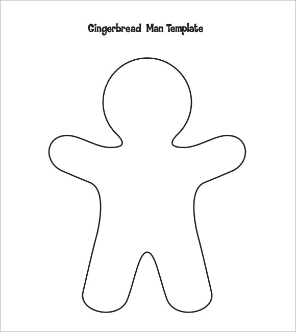 Gingerbread Man    Documents In Pdf Psd Vector