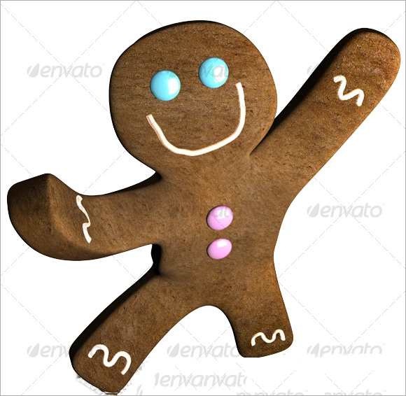 gingerbread man template to cut out1
