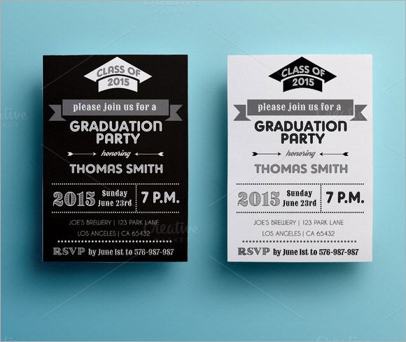 Sample Graduation Card Template    Documents In Psd Vector