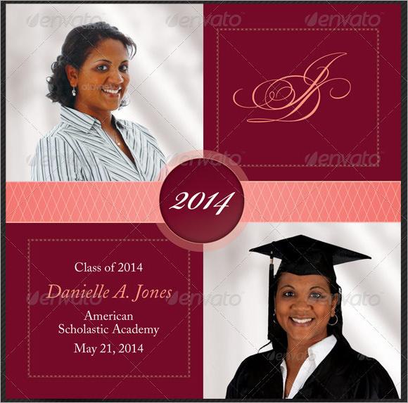 graduation announcements template