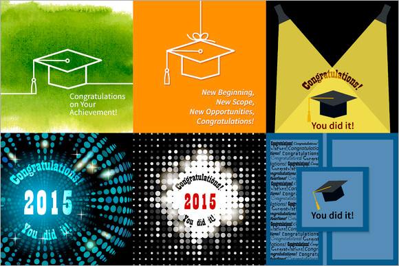 graduation congratulations card template
