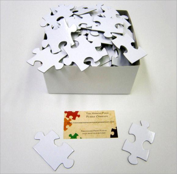 9 puzzle pieces psd vector eps