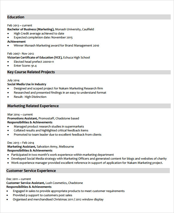 Financial Analyst Resume  Market Analyst Resume
