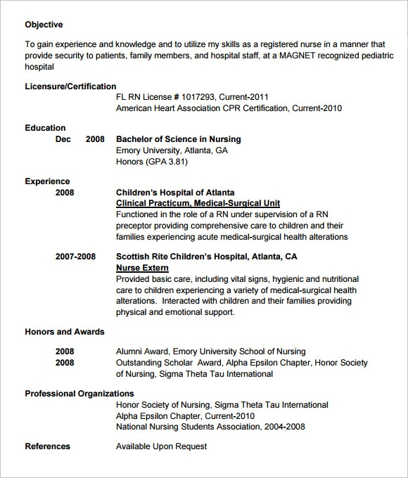 Physician Resume Templates – Doctor Resume Template