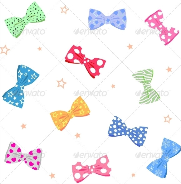 10 Bow Ties PSD Vector EPS PDF – Bow Tie Template