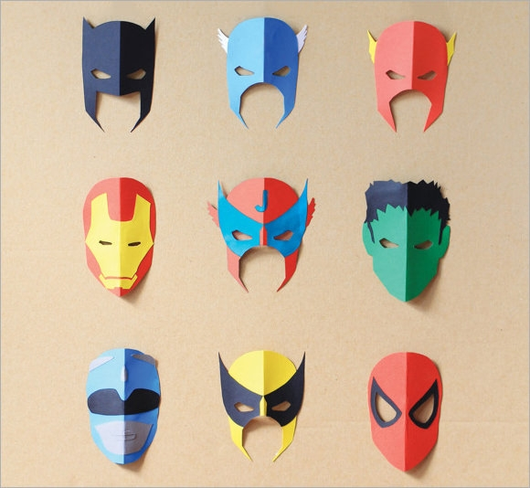 Free 5 Superhero Mask Samples In Psd Pdf Eps