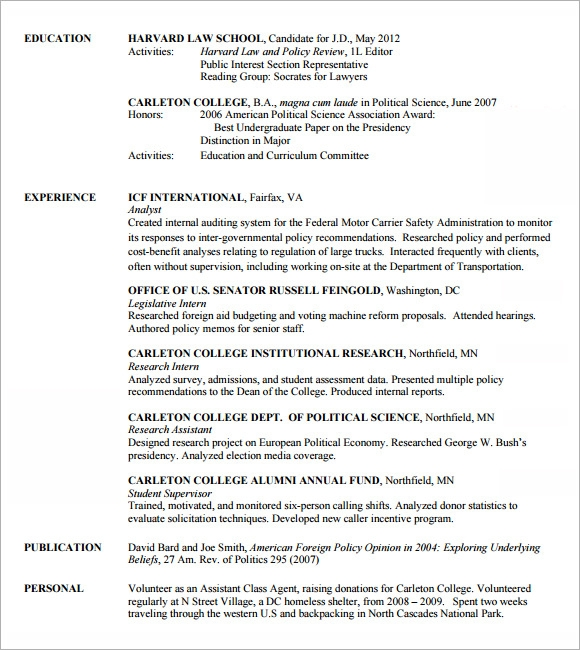 Lawyer Resume Templates - 5+ Download Free Documents In Pdf , Psd