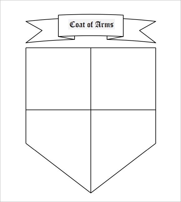 Coat Of Arms Template 12 Download In Pdf Psd Eps