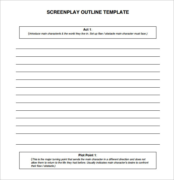 Sample Screenplay   Documents In Pdf Word