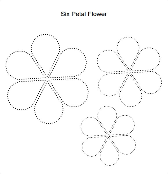 Flower Petal Template   Download Documents In Pdf  Psd  Vector