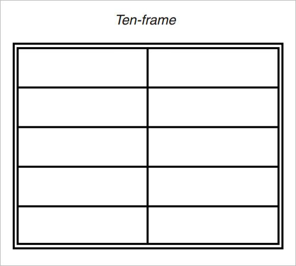 Sample Ten Frame - 5+ Documents in PDF
