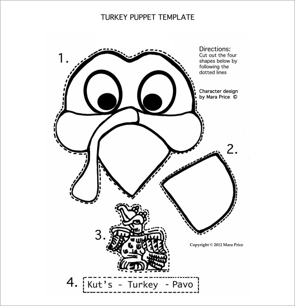 turkey body template
