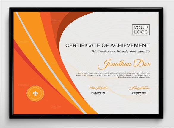 Best Teacher Award Certificate Template  VisualbrainsInfo