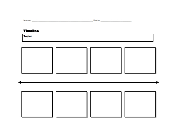 Sample Timeline For Student   Documents In Pdf