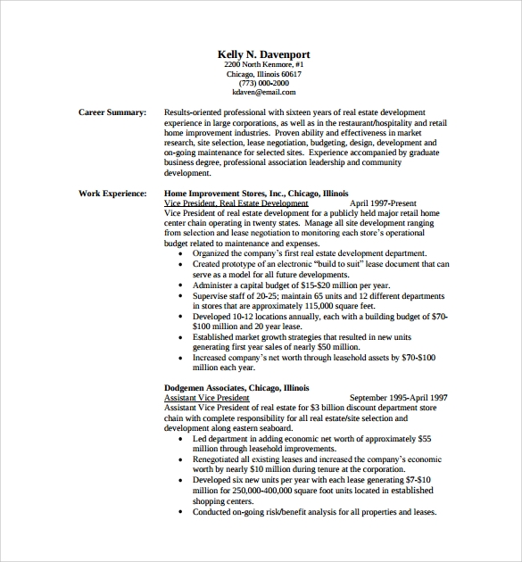 Professional Resume   Free Samples Examples Format